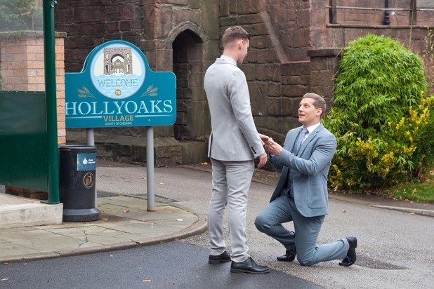 Hollyoaks, John Paul proposes to Ste, Thu 24 Dec