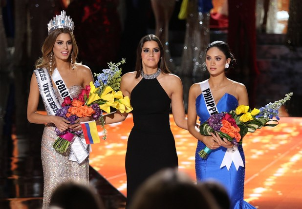 Miss Universe: Ariadna Gutierrez is wrongly crowned the winner, she was actually first runner up, with Pia Alonzo Wurtzbach as the winner.