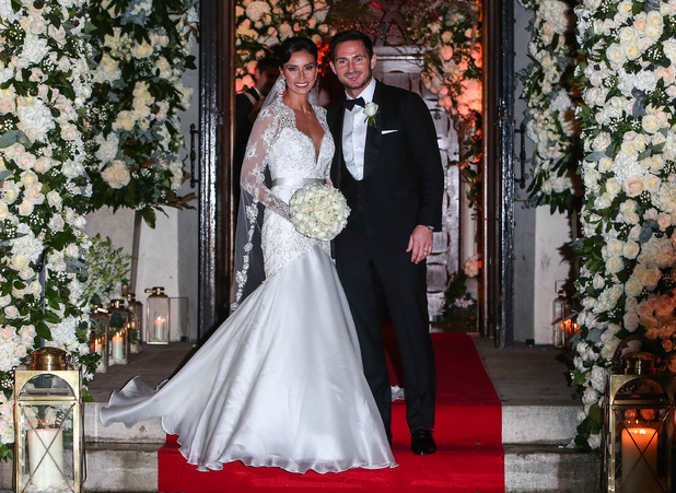 Wedding of Christine Bleakley and Frank Lampard - 20 December 2015.