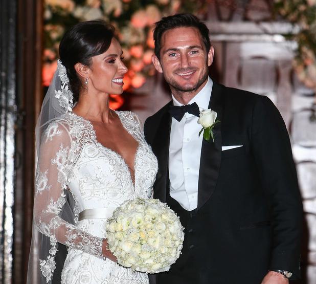 Wedding of Christine Bleakley and Frank Lampard - 20 December 2015.