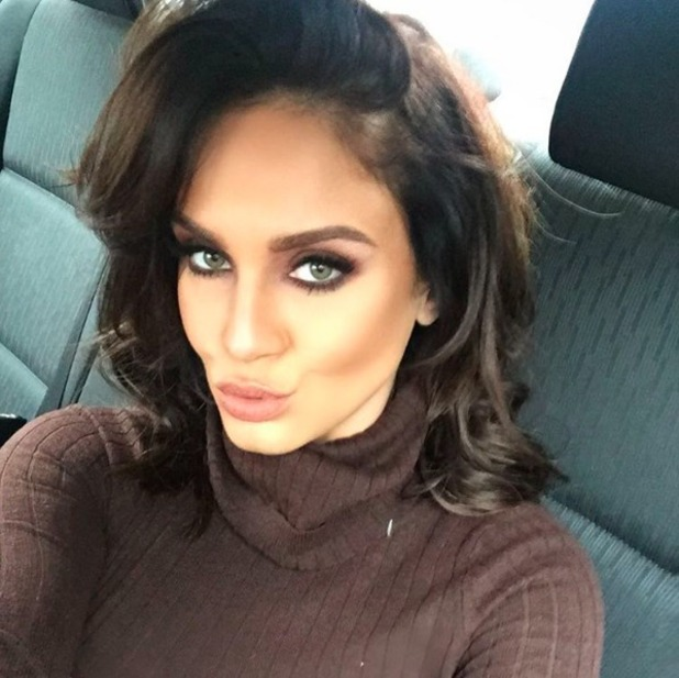 Vicky Pattison shares poutastic selfie on Boxing Day 2016.