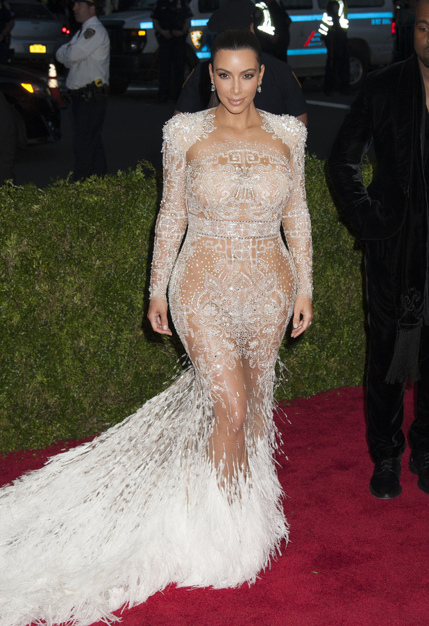 Kim Kardashian at the 2015 MET Costume Gala China Through the Looking Glass, New York 05/04/2015