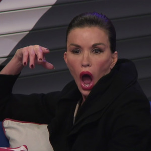 Janice Dickinson on 'Celebrity Big Brother'. Broadcast on Channel 5.