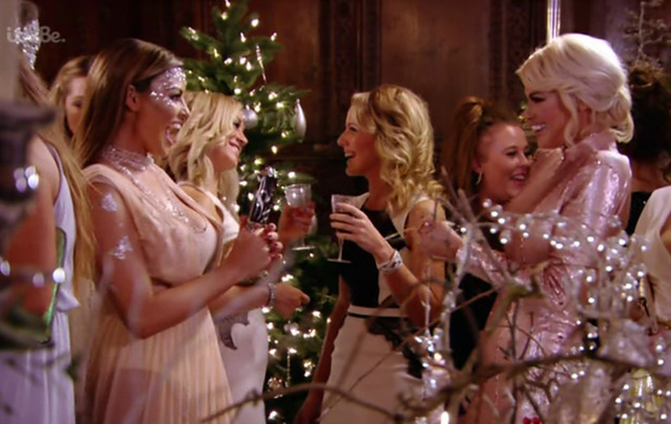 TOWIE Christmas party - The Only Way Is Essexmas.
