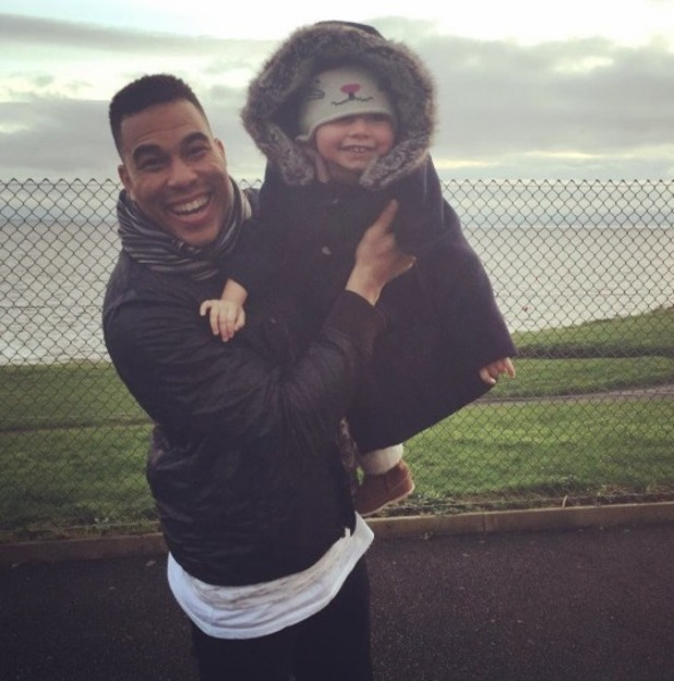 Nadine Coyle shares picture of her daughter - 31 dec 2015