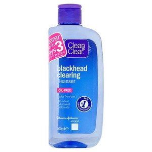 Clean & Clear Blackhead Clearing Cleanser £3.49, 4th January 2015