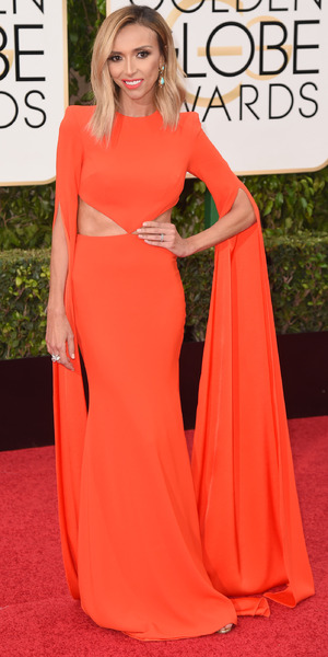 Giuliana Rancic, 73rd Annual Golden Globe Awards, Arrivals, Los Angeles, America - 10 Jan 2016
