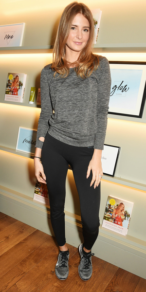 Millie Mackintosh attends the Madeleine Shaw Glow Guides app launch at Brown's Hotel in partnership with Origins Skincare on January 8, 2016 in London, England. ()