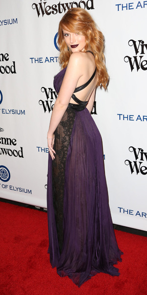 Bella Thorne attends The Art of Elysium presents Vivienne Westwood and Andreas Kronthaler 2016 HEAVEN Gala, 9 January 2016.