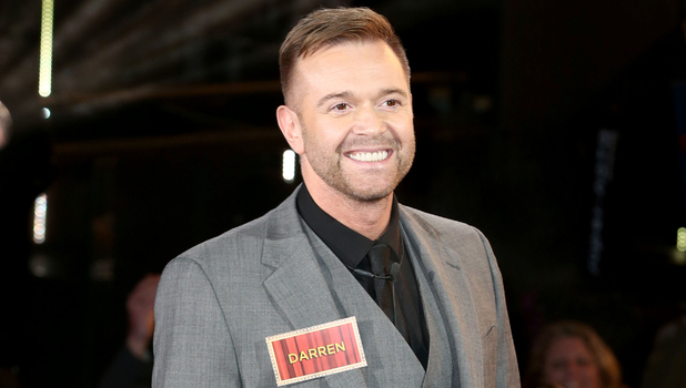 Celebrity Big Brother Launch - Darren Day. 5 January 2015.