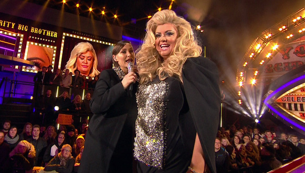 Celebrity Big Brother Launch - Gemma Collins. 5 January 2015.