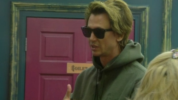 CBB: Jonathan Cheban talks about his feud with Angie in the bedroom. (Shown on Bit On The Side). 7 January 2016.