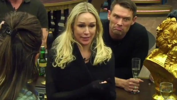 Kristina Rihanoff announces she's pregnant CBB Day 3, 7 January 2016