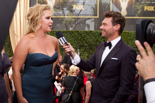Live From The Red Carpet, Ryan Seacrest, Amy Schumer, Sun 10 Jan