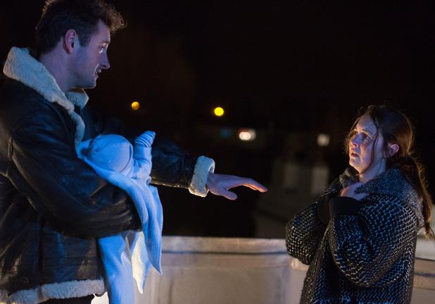 EastEnders, Martin talks Stacey down, Mon 11 Jan