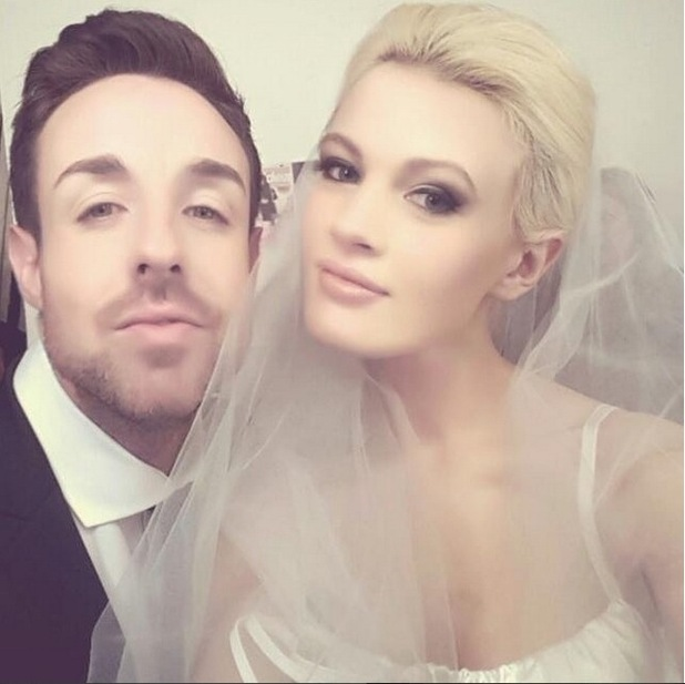 Stevi Ritchie and Chloe Jasmine spark marriage rumours with a bride and groom selfie on Instagram, 3rd January 2016