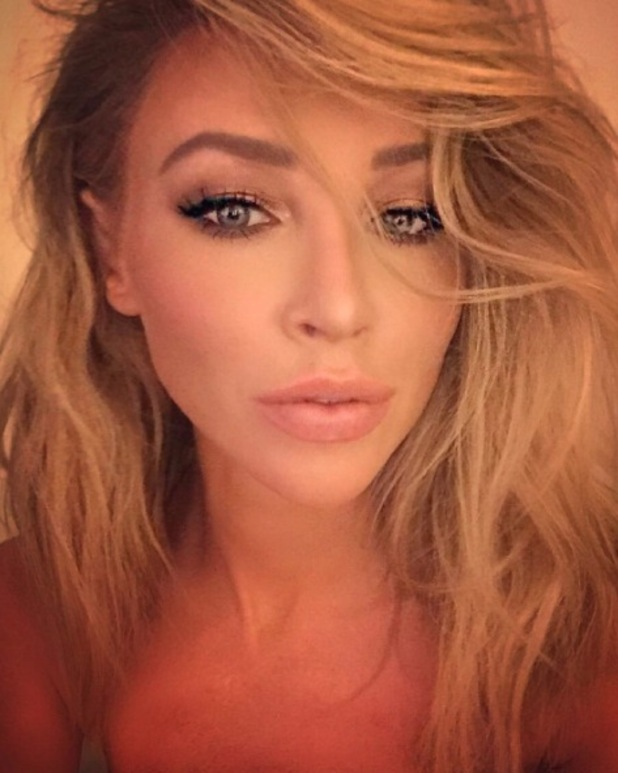 Ex-TOWIE star Lauren Pope shares picture of 80s-inspired hair on Instagram, 8th January 2016