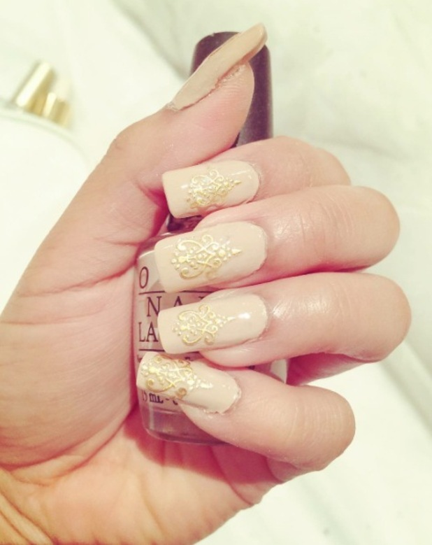 Mylene Cercado 4th Impact shares nude nail selfie on Instagram, 6th January 2016