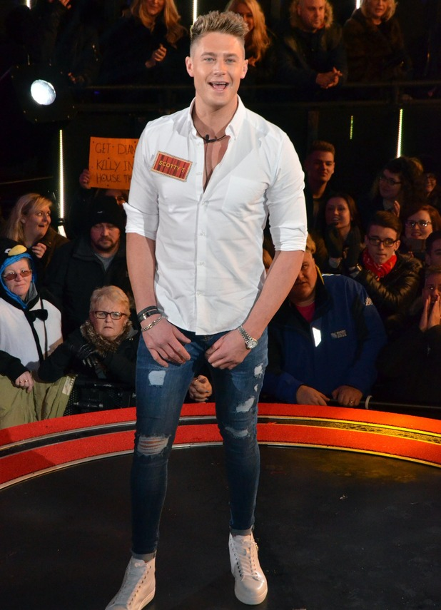 Scotty T on Celebrity Big Brother's launch night