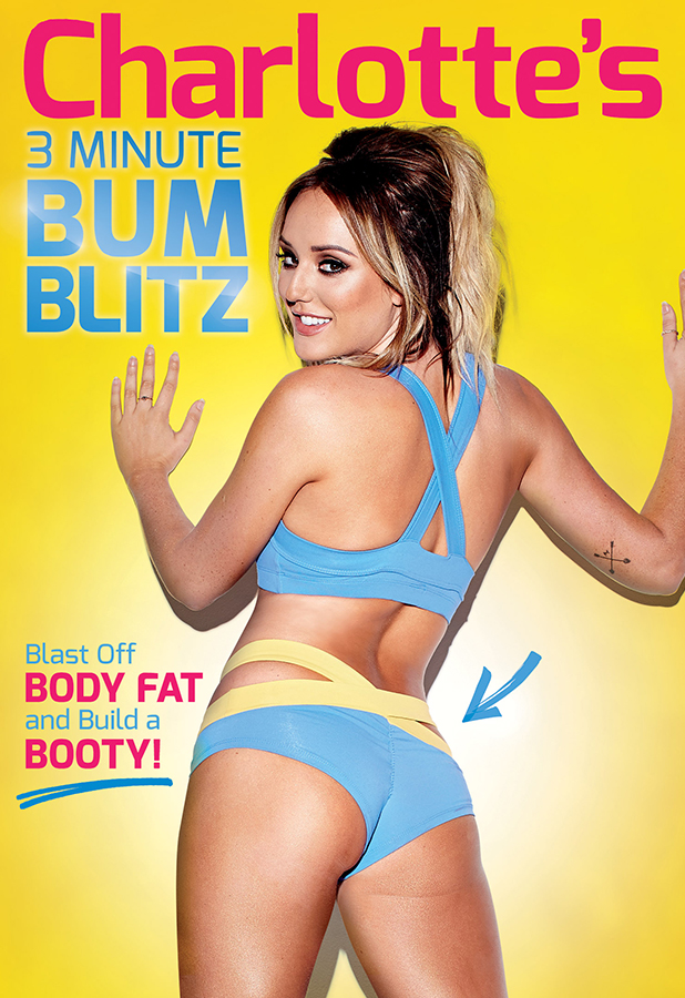 Charlotte Crosby images for her 3 Minute Bum Blitz DVD, available now.