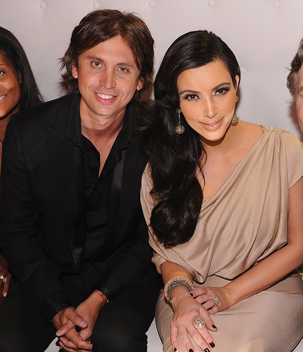 Jonathan Cheban, Kim Kardashian and Jason Binn attends A Night of Style & Glamour to welcome newlyweds Kim Kardashian and Kris Humphries at Capitale on August 31, 2011 in New York City. (Photo by Dimitrios Kambouris/Getty Images)