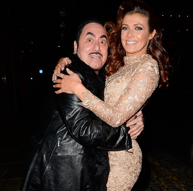 'Soul Legends' event to benefit the Mood Swings charity, at the Midland Hotel, Manchester Devid Gest and Kym Marsh
