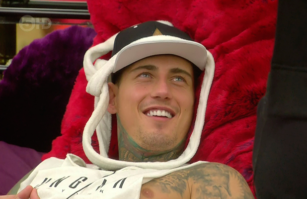 Jeremy McConnell on 'Celebrity Big Brother'. Broadcast on Channel 5 HD.