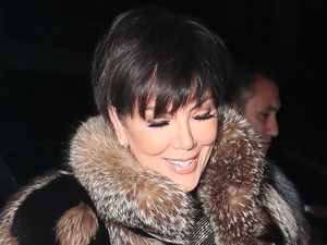 Kris Jenner out and about in L.A with Corey Gamble, 12th January 2016