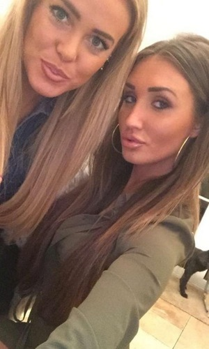 Megan McKenna and her friend Chloe Meadows, Instagram January 2016