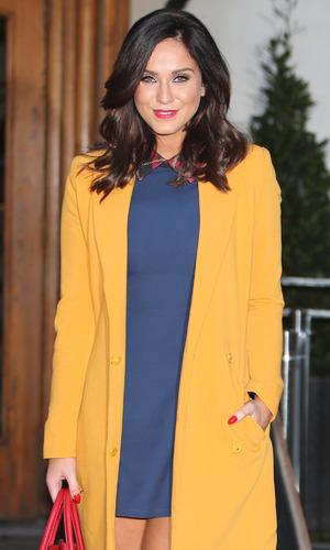 Vicky Pattison photographed outside ITV, London 6 January