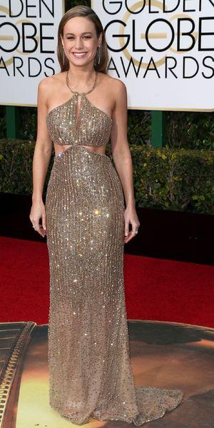 Brie Larson, 73rd Annual Golden Globe Awards, Arrivals, Los Angeles, America - 10 Jan 2016
