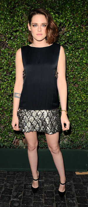 Kristen Stewart attends the Marie Claire Image Maker Awards in Los Angeles, America, 13th January 2016