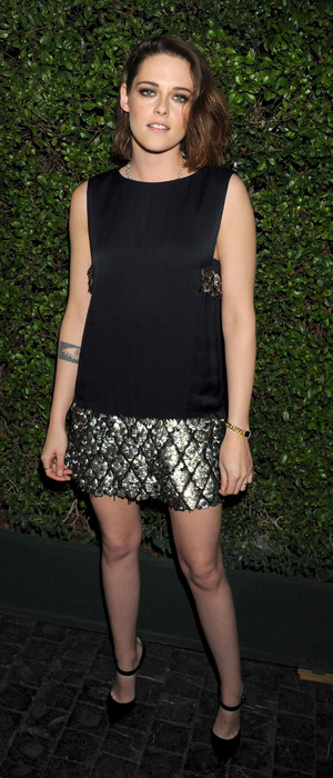 Twilight actress Kristen Stewart photographed at the Marie Claire Image Maker Awards in Los Angeles, America 13th January 2016