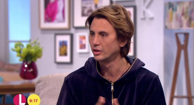 CBB: Jonathan Cheban appears on Lorraine to talk about his exit from the show, 13 January 2016