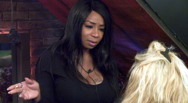 CBB Day 7: Tiffany speaks to Gemma after hysteria in the house over the David mix up.
