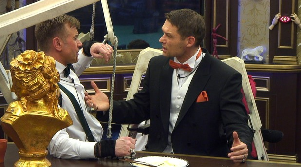 CBB: Darren confronts John over his nomination. 13 January 2016.