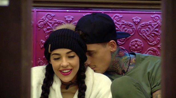 CBB: Stephanie Davis and Jeremy in the house. 11 January 2016.