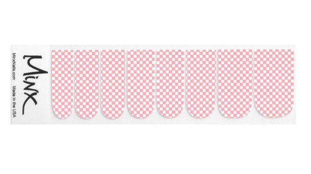 Zazzle Vintage Check Nail Stickers £14.85, 13th January 2016