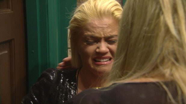 CBB: Danniella Westbrook in tears over Angie. 10 January 2016.