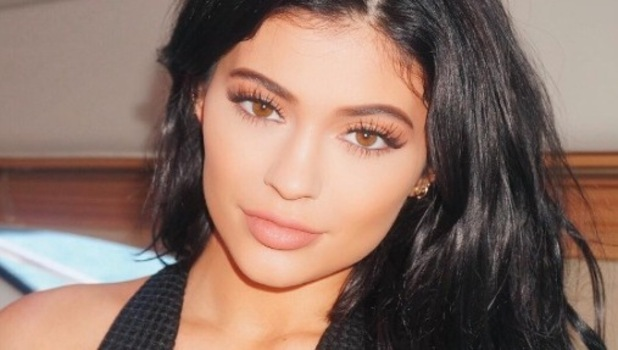 Kylie Jenner shares selfie to Instagram, wearing Candy K from Kylie Lip Kit, 12th January 2016