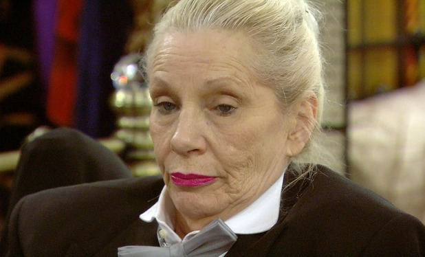 CBB: Angie Bowie in the puppet task. 13 January 2016.