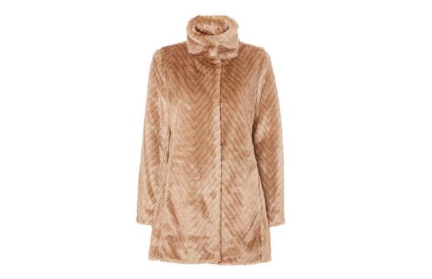 Ellen Tracy Faux Fur Coat £54, 12th January 2016