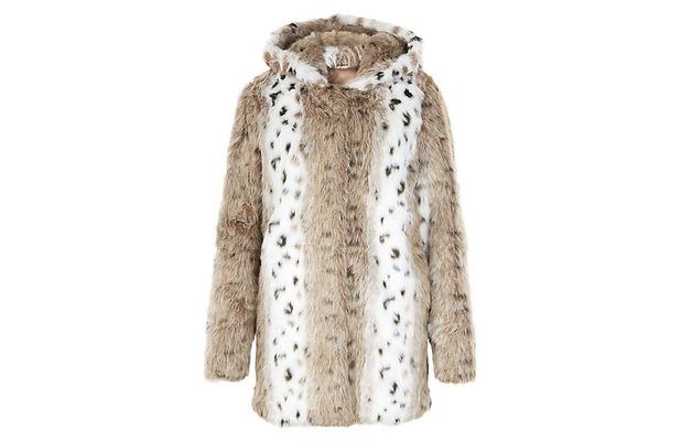 New Look Cheetah Print Coat, £54.99, 12th January 2016