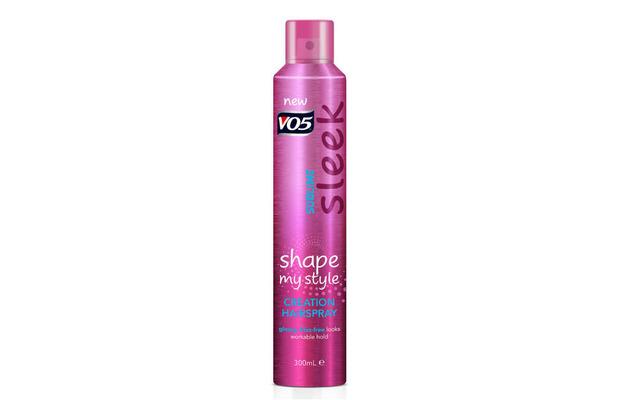 VO5 Sublime Sleek Creation Hairspray £3.99, 15th January 2016