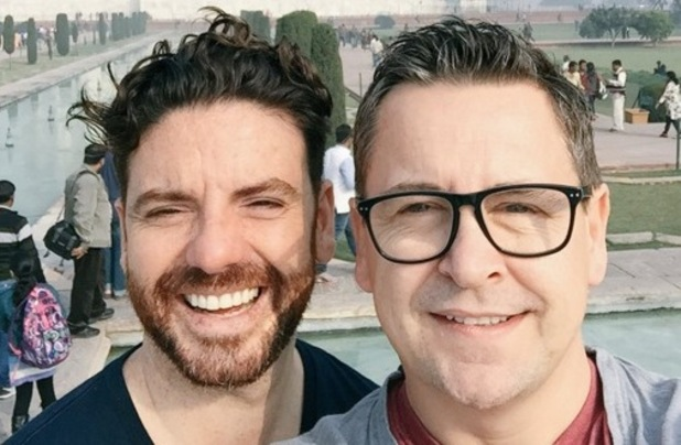 Stephen Webb reveals engagement to partner Daniel Lustig during India trip 11 January 2016