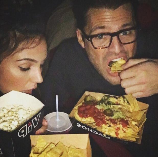 Mark Wright and Michelle Keegan date night at Cineworld, Sheffield 14 January