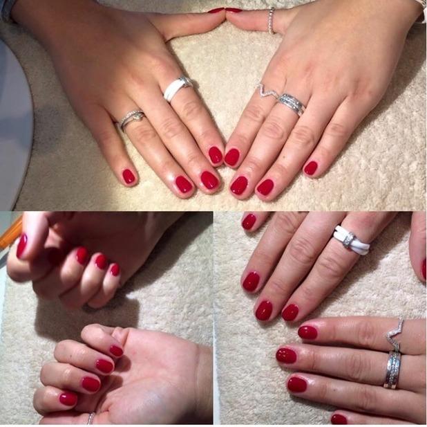 Brooke Vincent Blog: Red nails 12 January