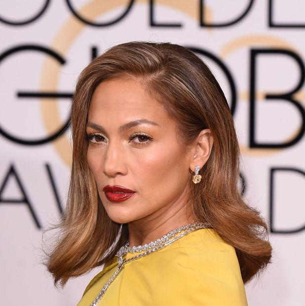 Jennifer Lopez at the Golden Globes awards party in Los Angeles, 11th January 2016