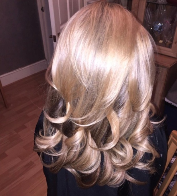 TOWIE's Katie Wright shows off new hair extensions and dye job on Instagram, 14th January 2016