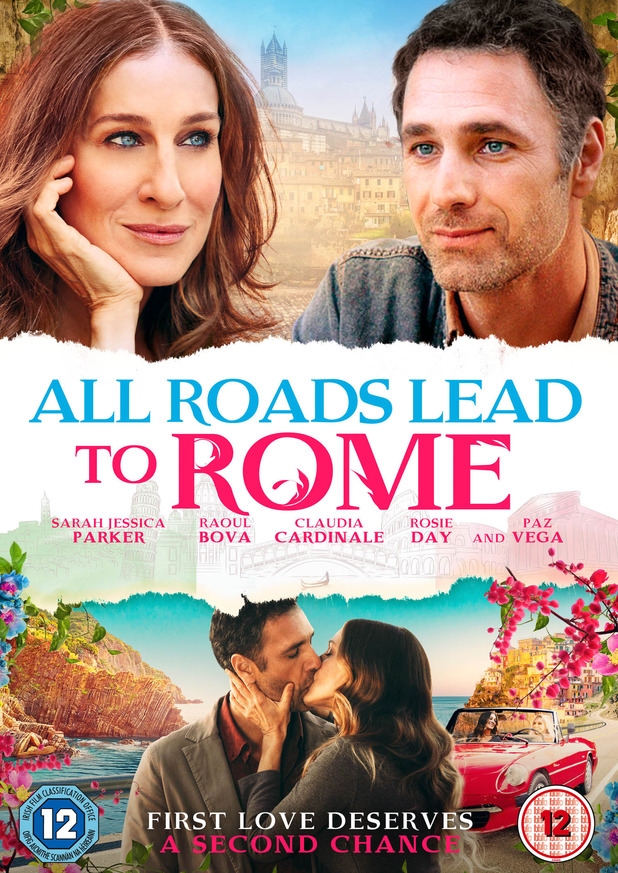 Sarah Jessica Parker makes rom-com return in All Roads Lead To Rome.